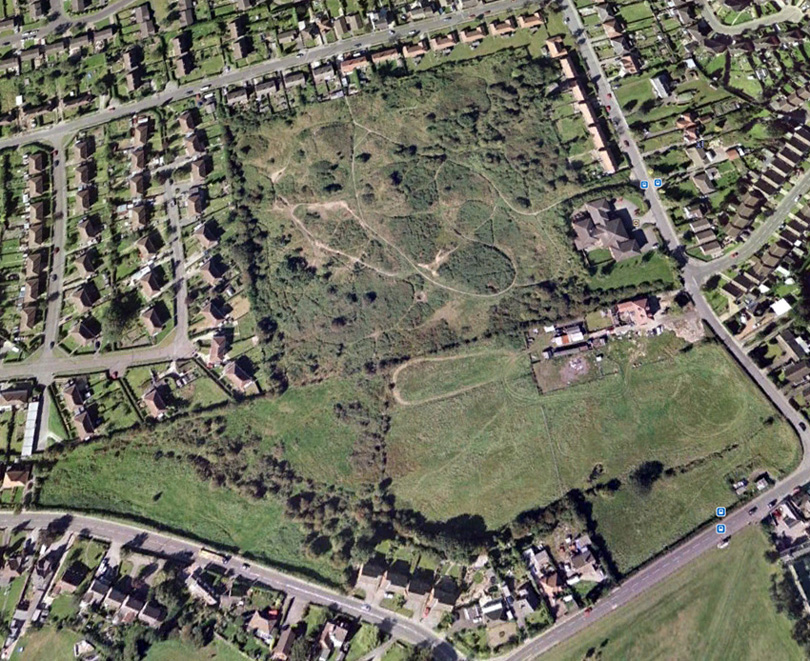 Google map of Selston Common - 09/07/04