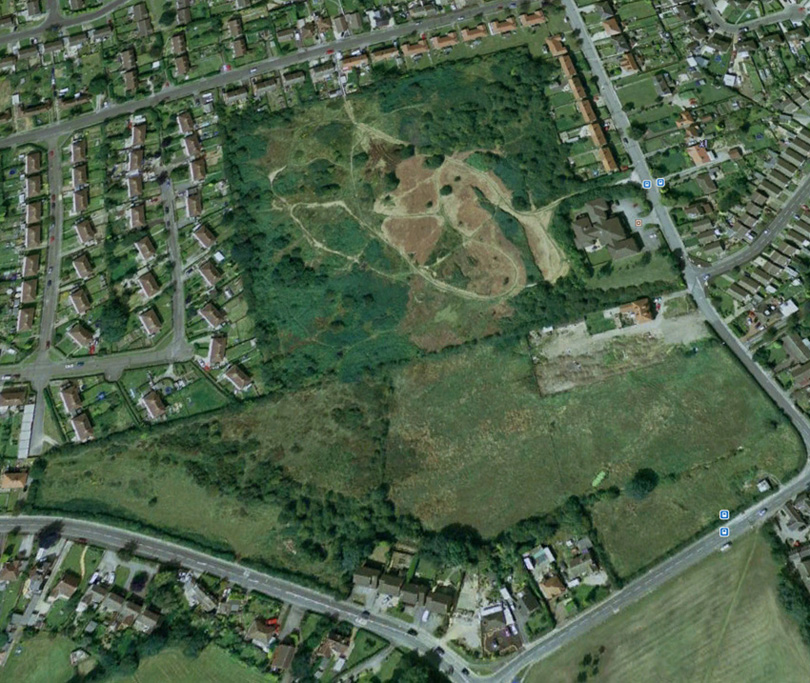 Google map of Selston Common - 26/09/07